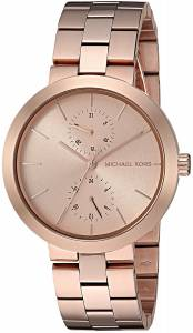 [マイケル・コース]Michael Kors 腕時計 Garner RoseGold Tone Watch MK6409 レディース