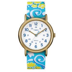 [タイメックス]Timex  Weekender FullSize Watch Reversible Floral Swirl/White TW2P901009J
