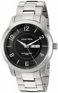 [アーミトロン]Armitron 腕時計 20/5142BKSV メンズ [並行輸入品]