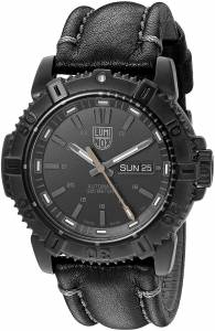 [ルミノックス]Luminox  'Mariner' Swiss Stainless Steel and Leather Automatic Watch, 6501.BO