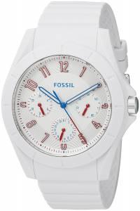 [フォッシル]Fossil 腕時計 Quartz Rubber and Silicone Watch, Color:White FS5223 メンズ