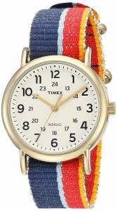 [タイメックス]Timex Weekender Multicolor Denim SlipThru Strap Watch TW2R101009J TW2R101009J