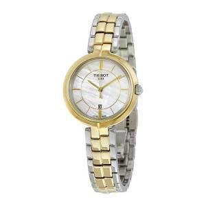 [ティソ]Tissot 腕時計 Flamingo Mother of Pearl Dial Watch T094.210.22.111.01 T0942102211101