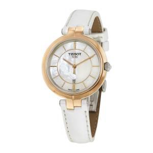 [ティソ]Tissot 腕時計 Flamingo Mother of Pearl Dial Watch T094.210.26.111.01 [並行輸入品]