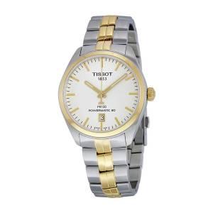 [ティソ]Tissot 腕時計 PR 100 Automatic Silver Dial Watch T101.407.22.031.00 メンズ
