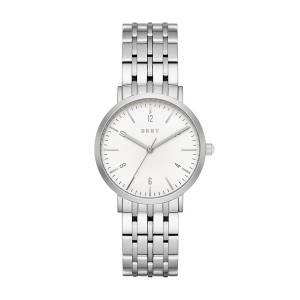 [ダナキャラン]DKNY  Quartz Stainless Steel Casual Watch, Color:SilverToned NY2502