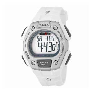 [タイメックス]Timex  TW5K88100 Ironman Classic Mid Size 30 Lap White Resin Strap TW5K88100E4
