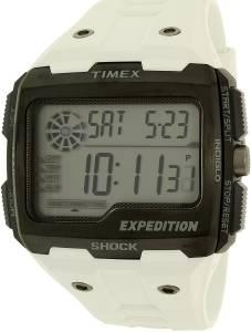 [タイメックス]Timex 腕時計 Expedition Black Resin Quartz Dress Watch TW4B04000 メンズ