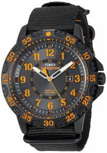 [タイメックス]Timex TW4B05200 Expedition Gallatin Black/Orange Nylon SlipThru TW4B052009J
