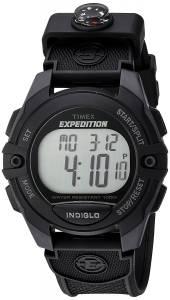 [タイメックス]Timex  TW4B07700 Expedition FullSize Digital CAT Black Resin Strap TW4B077009J
