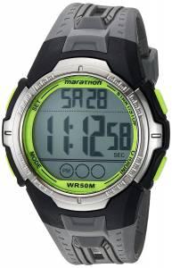 [タイメックス]Timex Marathon by TW5M06700 Digital FullSize Gray/Black/Green Resin TW5M06700M6