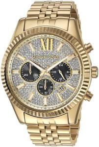 [マイケル・コース]Michael Kors 腕時計 Lexington GoldTone Watch MK8494 メンズ