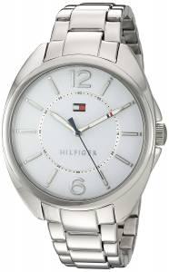 [トミー ヒルフィガー]Tommy Hilfiger Quartz Stainless Steel Watch, Color:SilverToned 1781694
