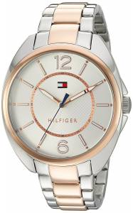 [トミー ヒルフィガー]Tommy Hilfiger  Quartz Stainless Steel Watch, Color:Two Tone 1781696