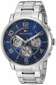 [トミー ヒルフィガー]Tommy Hilfiger Quartz Stainless Steel Watch, Color:SilverToned 1791293