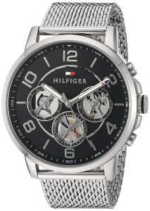 [トミー ヒルフィガー]Tommy Hilfiger Quartz Stainless Steel Watch, Color:SilverToned 1791292