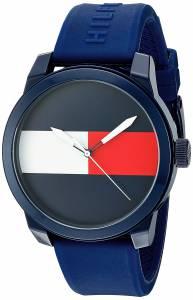 [トミー ヒルフィガー]Tommy Hilfiger 'Denim' Quartz Plastic and Rubber Casual Watch, 1791322