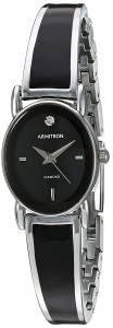 [アーミトロン]Armitron 腕時計 75/5423BKSV レディース [並行輸入品]