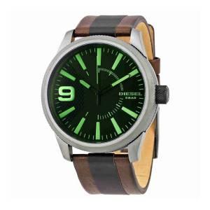 [ディーゼル]Diesel 腕時計 Rasp Leather Watch DZ1765 メンズ [並行輸入品]