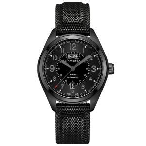 [ハミルトン]Hamilton 腕時計 Khaki Field Day Date Black Automatic Watch H70695735 メンズ