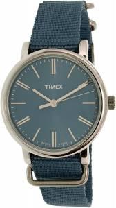 [タイメックス]Timex  Originals Blue Cloth Analog Quartz Fashion Watch TW2P88700