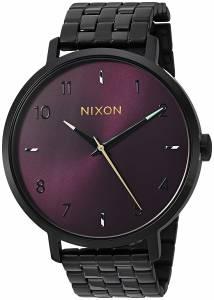 [ニクソン]NIXON  'Arrow' Quartz Stainless Steel Casual Watch, Color:Black A1090192-00