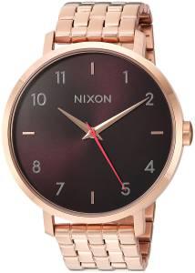 [ニクソン]NIXON 'Arrow' Quartz Stainless Steel Casual Watch, Color:Rose GoldToned A10902617-00