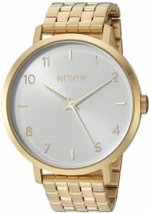 [ニクソン]NIXON  'Arrow' Quartz Stainless Steel Casual Watch, Color:GoldToned A1090504-00
