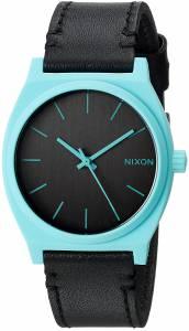 [ニクソン]NIXON  'Time Teller' Quartz Stainless Steel and Leather Casual Watch, A0452620-00