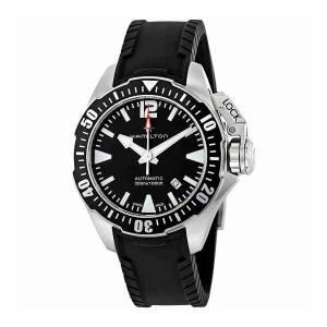 [ハミルトン]Hamilton 腕時計 Khaki Navy Frogman Automatic Watch H77605335 メンズ