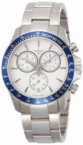 [ティソ]Tissot  Quartz Stainless Steel Casual Watch, Color:White T1064171103100 メンズ