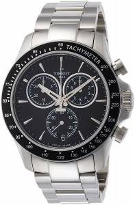 [ティソ]Tissot  V8 T106.417.11.051.00 Black/Silver Stainless Steel Analog Quartz T1064171105100