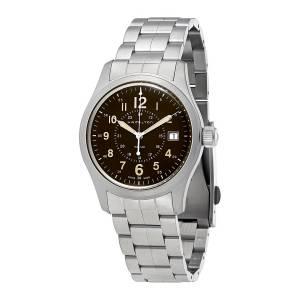 [ハミルトン]Hamilton  Khaki Field Brown Dial Stainless Steel Watch H68201193 メンズ