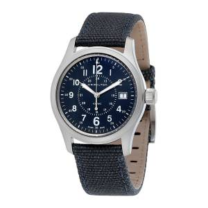 [ハミルトン]Hamilton 腕時計 Khaki Field Quartz 38 Canvas Watch H68201943 メンズ