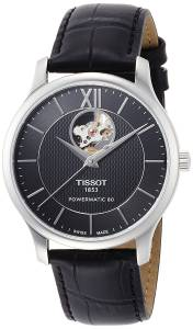 [ティソ]Tissot 腕時計 Tradition Automatic Black Dial Watch T0639071605800 メンズ