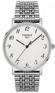 [ティソ]Tissot  Quartz Stainless Steel Casual Watch, Color:SilverToned T1094101103200 メンズ