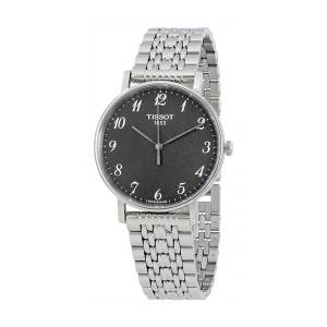 [ティソ]Tissot  Quartz Stainless Steel Casual Watch, Color:Grey T1094101107200 メンズ
