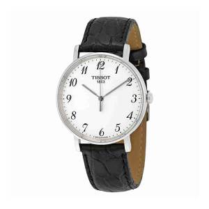 [ティソ]Tissot  TClassic Everytime Leather Watch T1094101603200 T109.410.16.032.00 メンズ