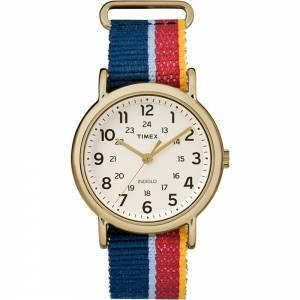[タイメックス]Timex 腕時計 Weekender® Watch MultiColored Striped/Denim Strap 43232306