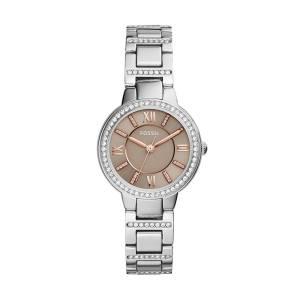 [フォッシル]Fossil 腕時計 Virginia ThreeHand Stainless Steel Watch ES4147 レディース