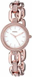 [フォッシル]Fossil  Kerstyn ThreeHand Rose GoldTone Stainless Steel Watch ES4123