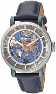 [フォッシル]Fossil  Original Boyfriend Automatic Blue Leather Watch ME3136 レディース