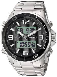 [アーミトロン]Armitron 腕時計 20/5182BKSV メンズ [並行輸入品]