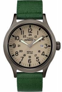 [タイメックス]Timex  Expedition Scout Military Indiglo Green Fabric Band Watch TW4B06800