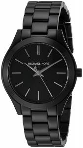 [マイケル・コース]Michael Kors  Mini Slim Runway Black Watch MK3587 レディース