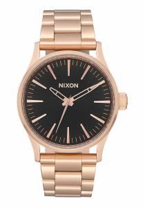 [ニクソン]NIXON  Sentry 38 SS All Rose Gold/Black Watch A450-1932-00 ユニセックス