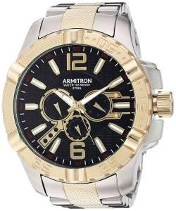 [アーミトロン]Armitron 腕時計 20/5209BKTT メンズ [並行輸入品]