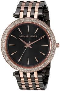 [マイケル・コース]Michael Kors  Darci Grey Rose GoldTone Watch MK3584 レディース
