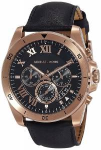 [マイケル・コース]Michael Kors  Brecken Black Dial Chronograph Watch MK8544 メンズ