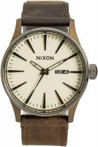 [ニクソン]NIXON 腕時計 New Sentry Leather Watch Metal A105-2091-00 メンズ